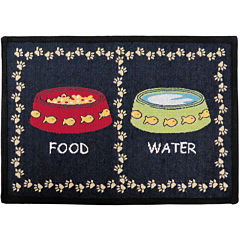 PB Paws by Park B. Smith® Kitty Meal Tapestry Pet Mat