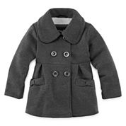Girls Lightweight Peacoat-Toddler