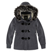 Girls Lightweight Fleece Jacket-Preschool