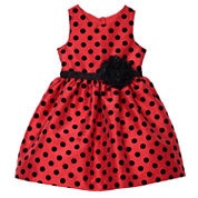 Marmellata Sleeveless Party Dress - Toddler