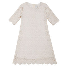 Rare Editions 3/4 Sleeve A-Line Dress - Toddler Girls