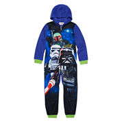 Boys Lego Long Sleeve One Piece Pajama-Big Kid