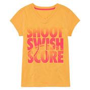 Xersion Girls Graphic T-Shirt-Big Kid