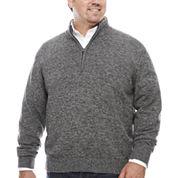 IZOD Quarter-Zip Pullover Big and Tall