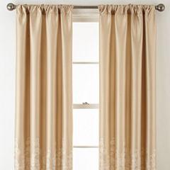 Royal Velvet Lucia Rod Pocket Curtain Panel
