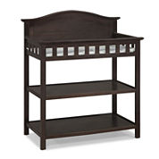 Graco 2-Shelf Changing Table - Espresso