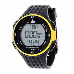 Rbx Unisex Black Strap Watch-Rbxhr001bk