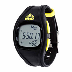 Rbx Unisex Black Strap Watch-Rbxpd002bk