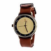 Brooklyn Exchange Mens Brown Bracelet Watch Nwl378875ag-Br