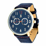Brooklyn Exchange Mens Blue Bracelet Watch Nwl400106g-Bl