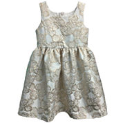 Marmellata Sleeveless Babydoll Dress - Preschool Girls