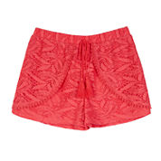 by&by girl Solid Woven Skorts - Big Kid