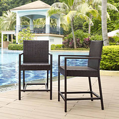 Palm Harbor Wicker 2-pc. Bistro Set