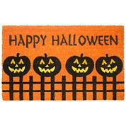 Happy Pumpkin Doormat