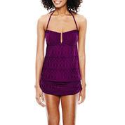 Stylus™ Crochet Tankini Swim Top or Skirted Crochet Bottoms