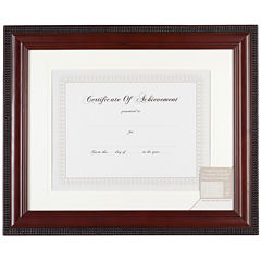 Beaded Document and Certificate Frame