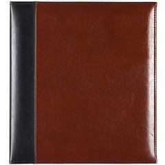 2-Tone Leather Magnetic Photo Album
