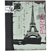 Ring-Bound Eiffel Tower Photo Album