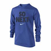 Nike Boys Long Sleeve T-Shirt-Big Kid