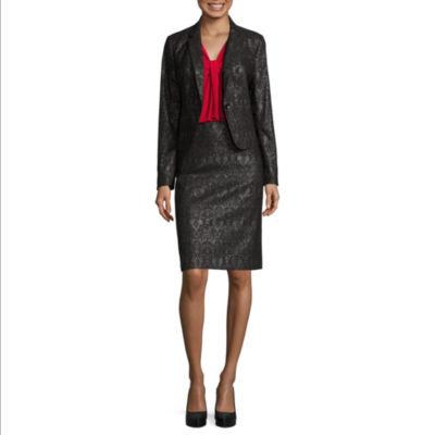 A Line Suit Skirt