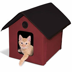 K & H Manufacturing Outdoor Unheated Kitty House 22