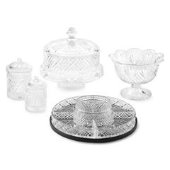 Dublin by Godinger Crystal Serveware Collection