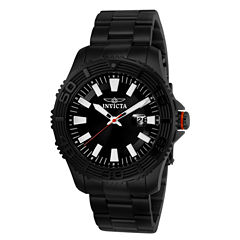 Invicta Mens Black Bracelet Watch-22411