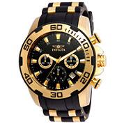 Invicta Mens Black Bracelet Watch-22340