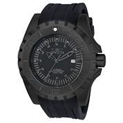 Invicta Mens Black Strap Watch-23801