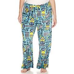 Illumination Minions Fleece Pajama Pants-Juniors Plus