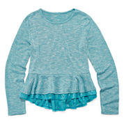 Fire Lace Bottom Hacci Top