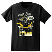 Short Sleeve Lego Batman Wanted T-Shirt