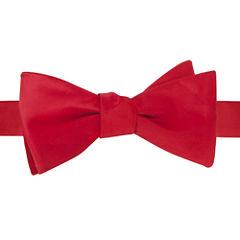 Stafford® Satin Solid Self-Tie Bow Tie
