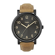 Timex® Originals Modern Easy Reader Tan Leather Strap Watch T2N677AB