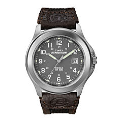 Timex® Expedition® Field Metal Mens Black Fabric Strap Watch T400919J
