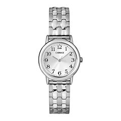 Carriage by Timex® Womens Stainless Steel Expansion Bracelet Watch C3C7449J
