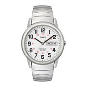 Timex® Easy Reader Mens Stainless Steel Expansion Strap Watch T204619J