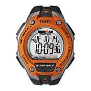 Timex® Ironman Mens Black Resin Strap 30-Lap Watch T5K5299J