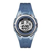 Marathon by Timex® Blue Resin Strap Digital Watch T5k362M6