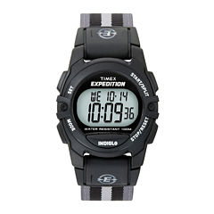Timex® Expedition® Gray Nylon Strap Digital Watch T496619J
