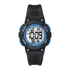 Marathon by Timex® Black Resin Strap Digital Watch TW5K84800M6