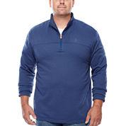 IZOD® Quarter-Zip Pullover - Big & Tall