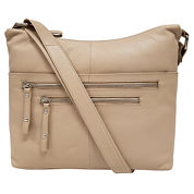 east 5th Leather Zip Crossbody Bag