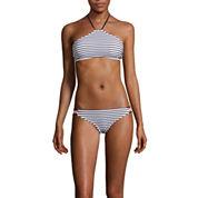 Arizona Summertime Stripe Halter High-Neck Swim Top or Hipster Swim Bottoms