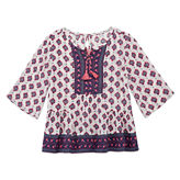 Arizona 3/4 Sleeve Blouse - Preschool Girls