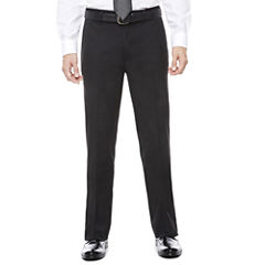 Claiborne Flat Front Pants-Big and Tall