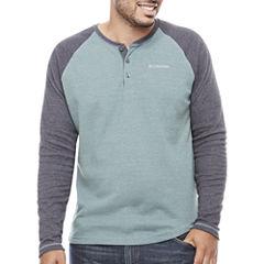Columbia Long Sleeve Henley Shirt-Big and Tall