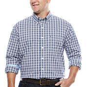 IZOD® The Advantage Long-Sleeve Poplin Shirt- Big & Tall