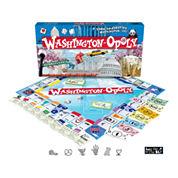Washington DC-opoly Board Game
