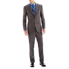 Billy London UK® Gray Basketweave Suit Separates